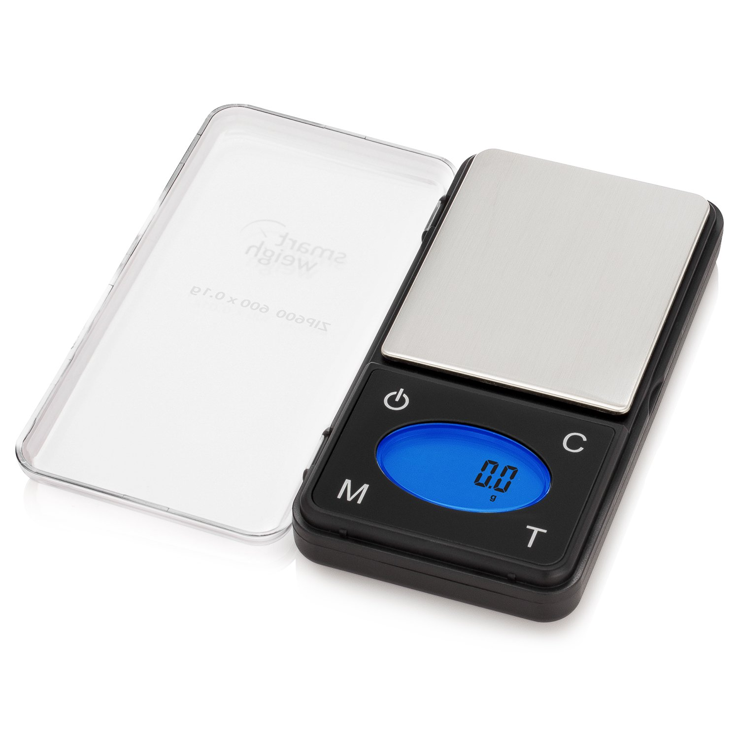 Smart Weigh ZIP600 Ultra Slim Digital Pocket Scale with Counting Feature, 600 x 0.1g