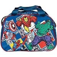 PERLETTI Sac de Sport Avengers Marvel Comics – Gros Sac de Sport garçon pour Gym, Voyage et Loisirs Dimensions 28x41,5x21 cm