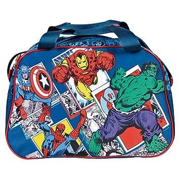 Capitán El Bolso Viajes Perletti Con Para Niño Da Avengers Deporte Gimnasio Vengadores Marvel Deportivo Y Iron América Man Los Bolsa TKJ1clF