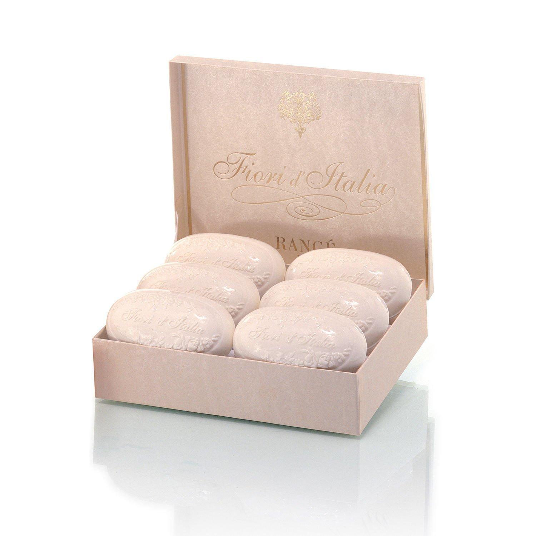 Fiori Italia.Amazon Com Rance Fiori D Italia Soapbox 6 X 180g Bath Soaps