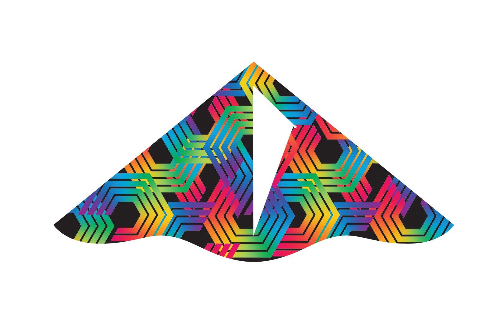 X-Kites Deluxe Delta Nylon Kite Assortment Pack (12-Pack), 42'' by X-Kites (Image #3)