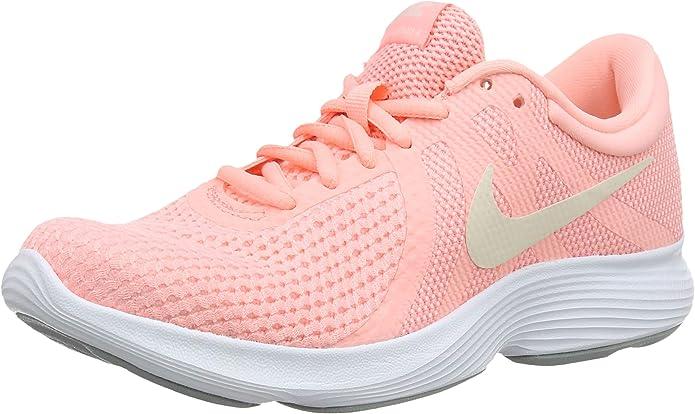 Nike Revolution 4 Sneakers Laufschuhe Damen Rosa
