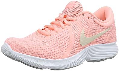 357906c4f4d7c Nike Damen Revolution 4 EU Laufschuhe Mehrfarbig Tint Guava Ice Oracle Pink  602