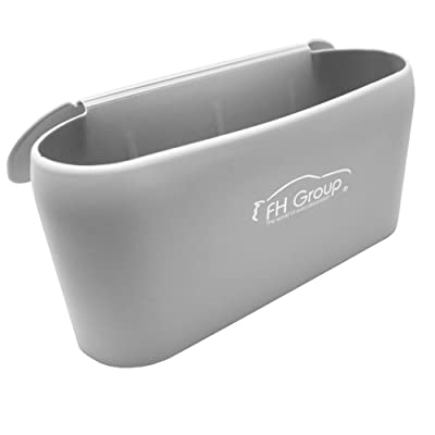 FH Group FH3023GRAY Silicone Waterproof Durable Portable Small Waste Trash Garbage bin can for car: Automotive