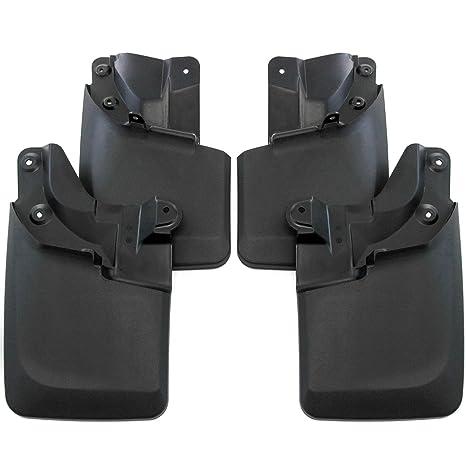 Premium resistente moldeado 2016 – 2017 toyota tacoma guardias guardabarros delantero y trasero Set de 4