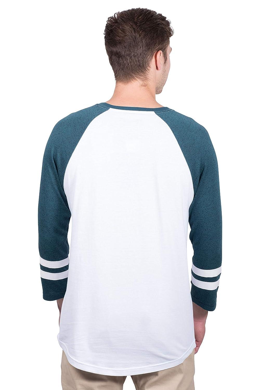 Ultra Game Mens T Raglan Baseball 3//4 Long Sleeve Tee Shirt