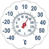 BIOS Termómetro de Ventana succión Jumbo, 17,8cm