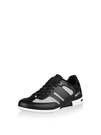 Sparco Mens Sneakers MOTEGI - Grey and Black - 41