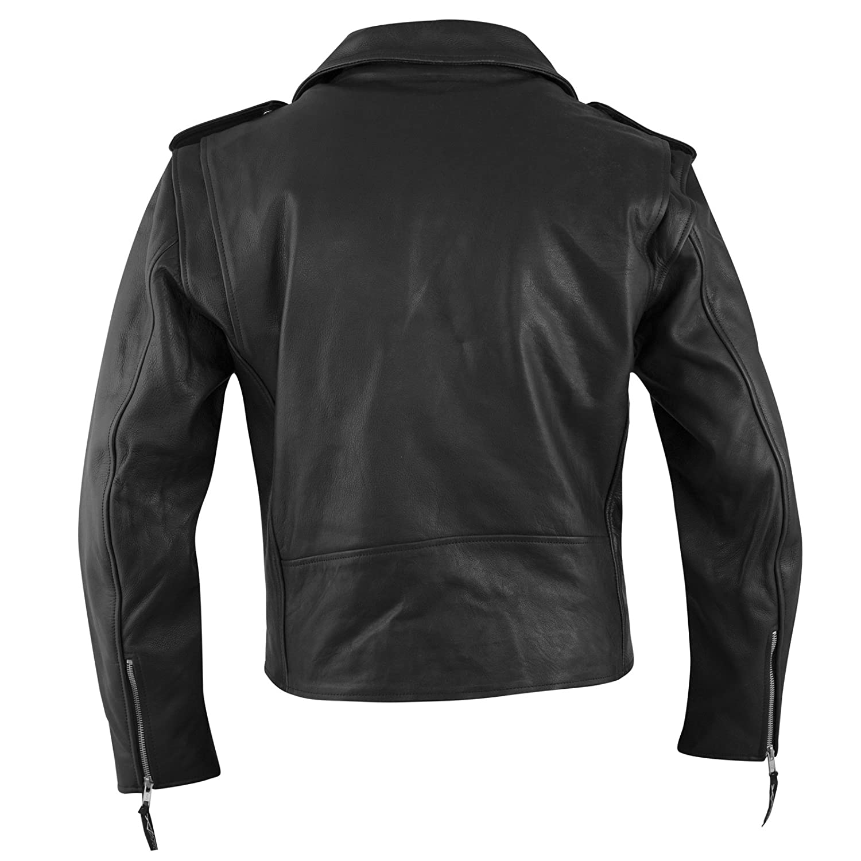 A-pro Blouson Cuir Femme Custom Protections Homolog/ées Renfort Dorsal noir XS