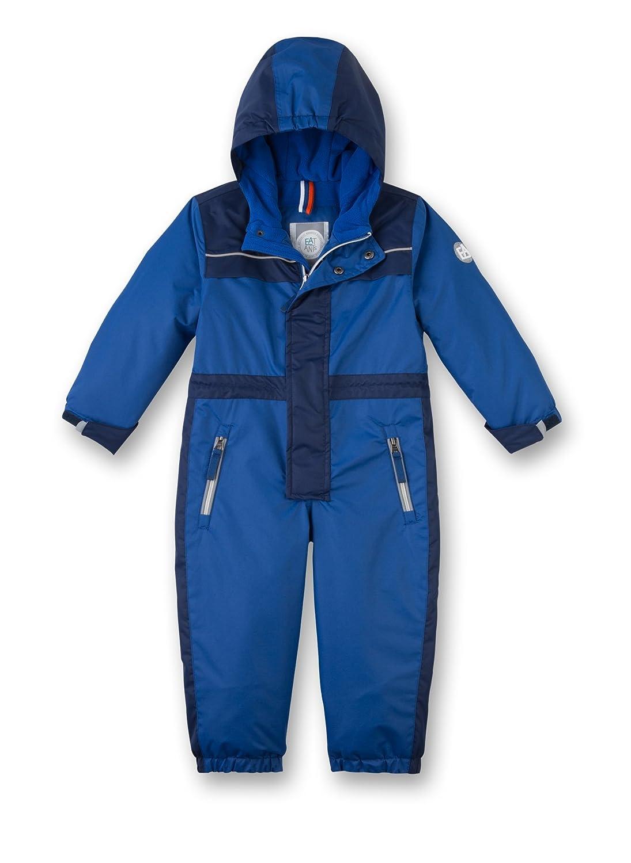 Sanetta Jungen Schneeanzug Blau (Pacific Blue 50178) 86 124299