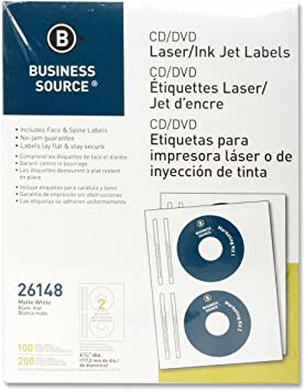 ELI26072 - Elite Image CD/DVD Laser/Inkjet Label