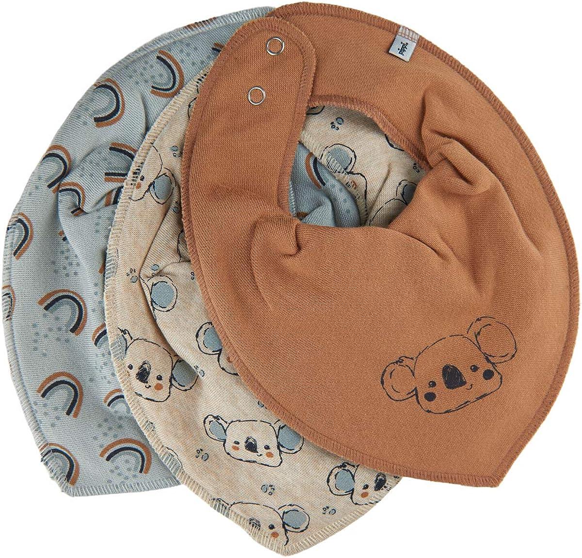 Pippi Unisex Baby Bandana Bib Uni Dreieckst/ücher