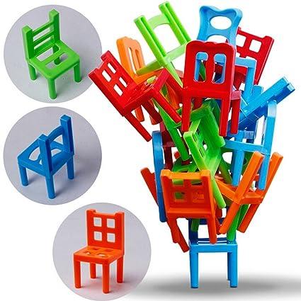 Amazon.com: Chafin Pretend to Play silla de plástico ...