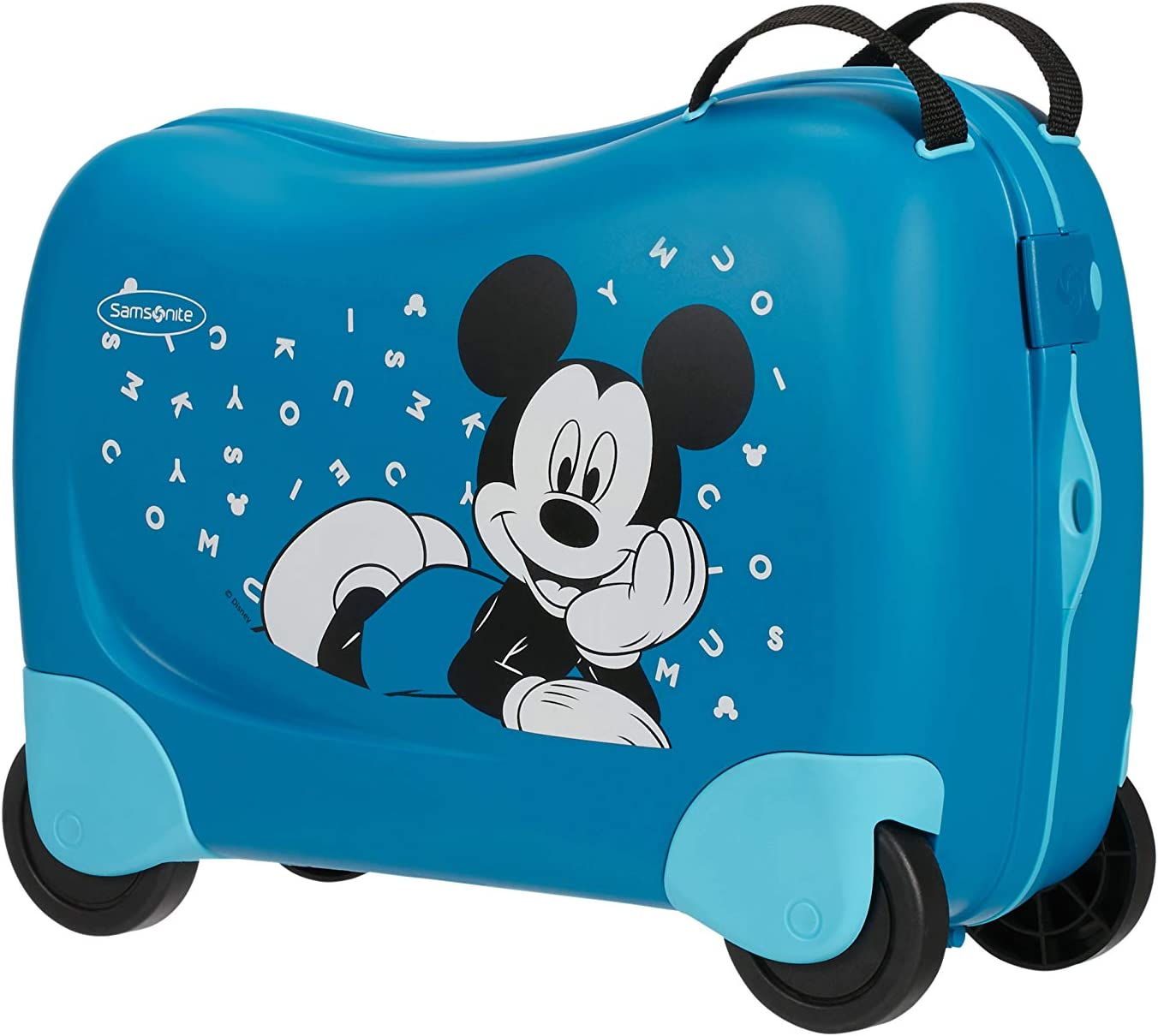 Samsonite Dream Rider Disney - Maleta Infantil, 51 cm, 28 L, Azul (Mickey Letters)