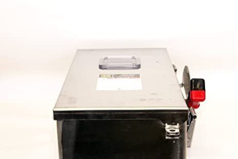 SCHNEIDER ELECTRIC CHU363DS Switch Not Fusible Hd 600-Volt 100-Amp 3 ...