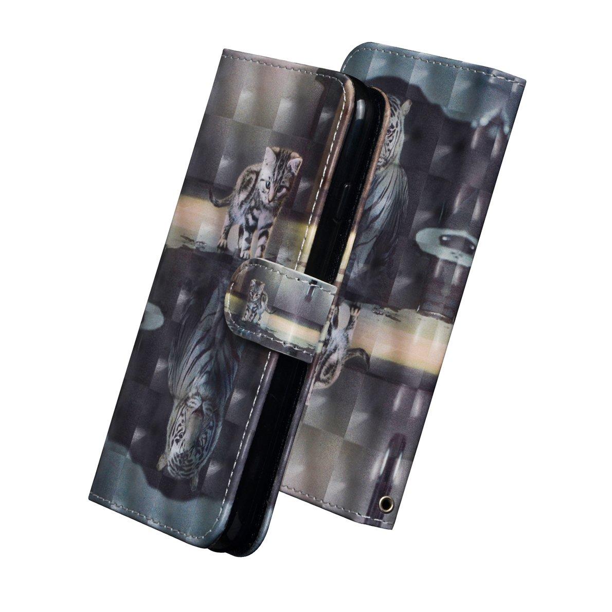 Tarjetero y Funci/ón de Suporte Samsung Galaxy S8 Plus Funda SHUYIT Alta Calidad 3D PU Cuero Billetera Flip Case Cover Carcasa para Samsung Galaxy S8 Plus Fundas Caso con Cierre Magn/ético