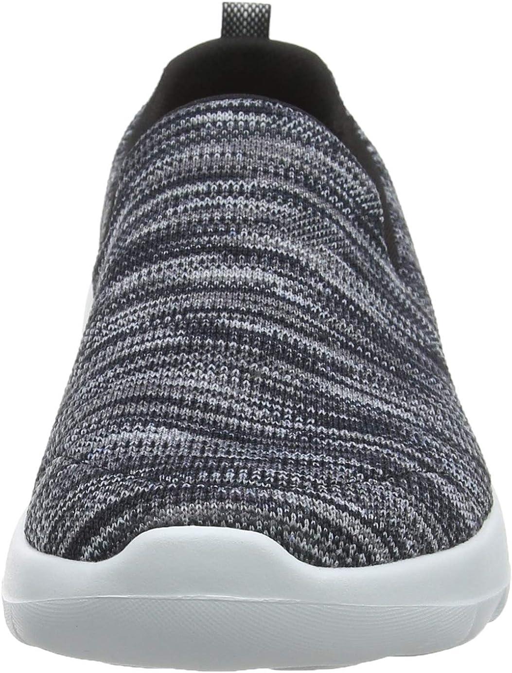 Skechers Women's Performance, Gowalk Joy Terrific Slip on Walking Shoes Black/Grey