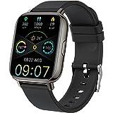 """Smart Watch 2021 for Men Women, Fitness Tracker 1.69"""" Touch Screen Smartwatch Fitness Watch IP68 Waterproof 24 Sports, Heart"""