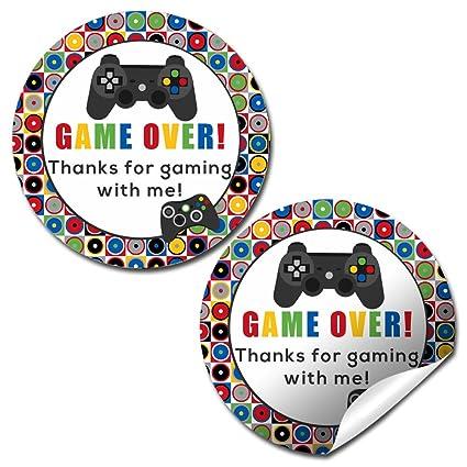 Amazon.com: Game Over, Video game fiesta de cumpleaños ...