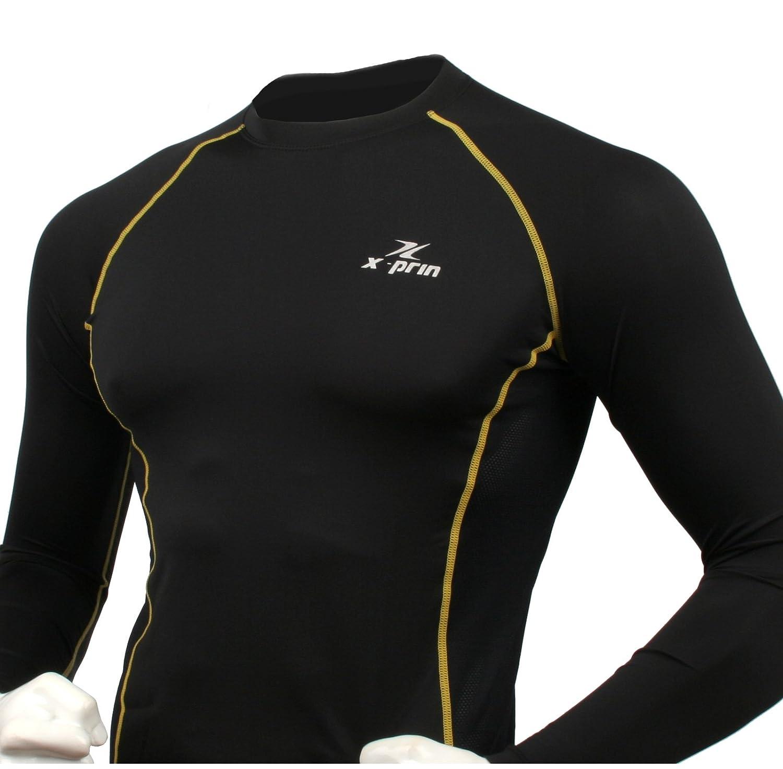 XPRIN XP100 Series Base Layer Compression Long Sleeve Sports Wear UV 97.5/%