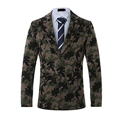1d0b8ca3b Coac3 Men s Camouflage Blazers Autumn And Winter Suit A Jacket at ...