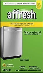 Affresh W10549851 Dishwasher Cleaner, 6 Tablets in Carton, Original Version, 6 Count