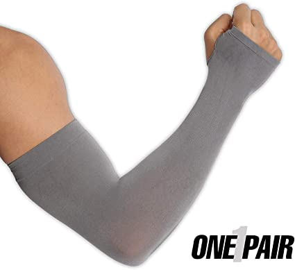 Arm Warmer//Sleeves Stretchable Lycra UV Sun Protection Running//Cycling Sleeves