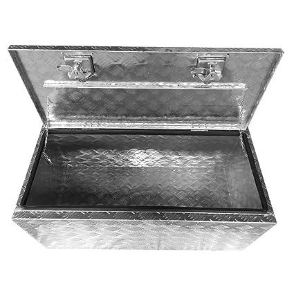 Amazon Com Teekland 91x43x45 5cm Truck Bed Underbody Aluminum Tool
