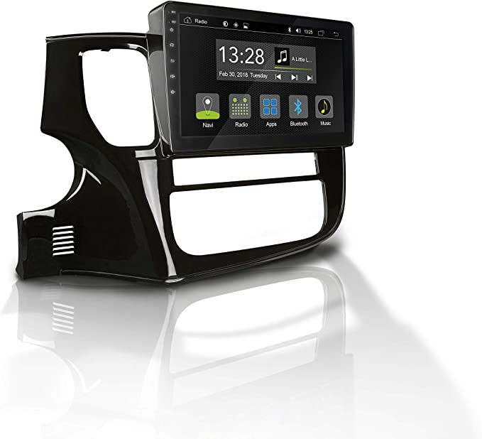 Radical R C10mt2 Mit 10 1 Touchscreen Autoradio Passend Für Mitsubishi Outlander Mit 7 1 Android Os Vorbereitet Für Navigation Fm Radio Bluetooth Usb Easyconnect Unterstützt Ops Klimastatus Navigation