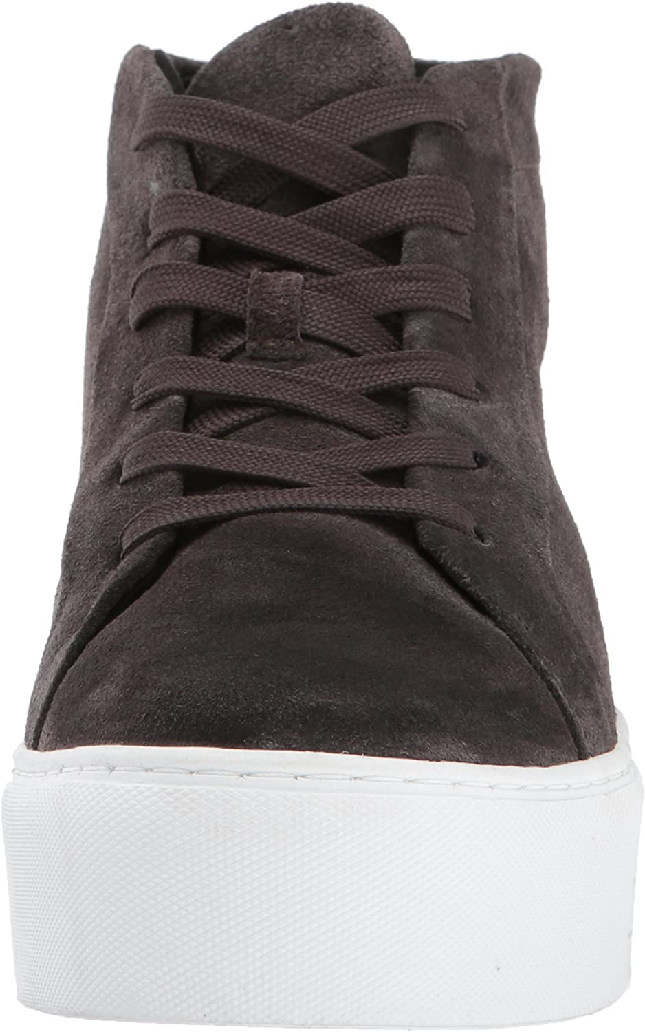Kenneth Cole New York Women's Janette High Top Lace Up Platform Sneaker Patent Fashion Asphault