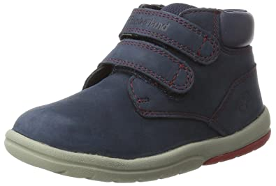 e3cf984191a28c Timberland Toddle Tracks Hook and Loop, Bottes Enfant, Bleu (Outerspace), 27