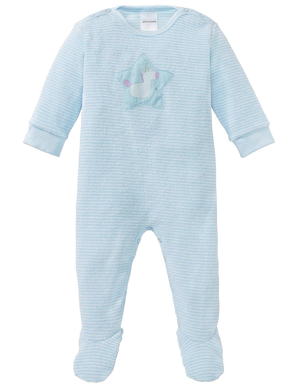 Schiesser Baby-M/ädchen Einhorn Anzug mit Vario Zweiteiliger Schlafanzug