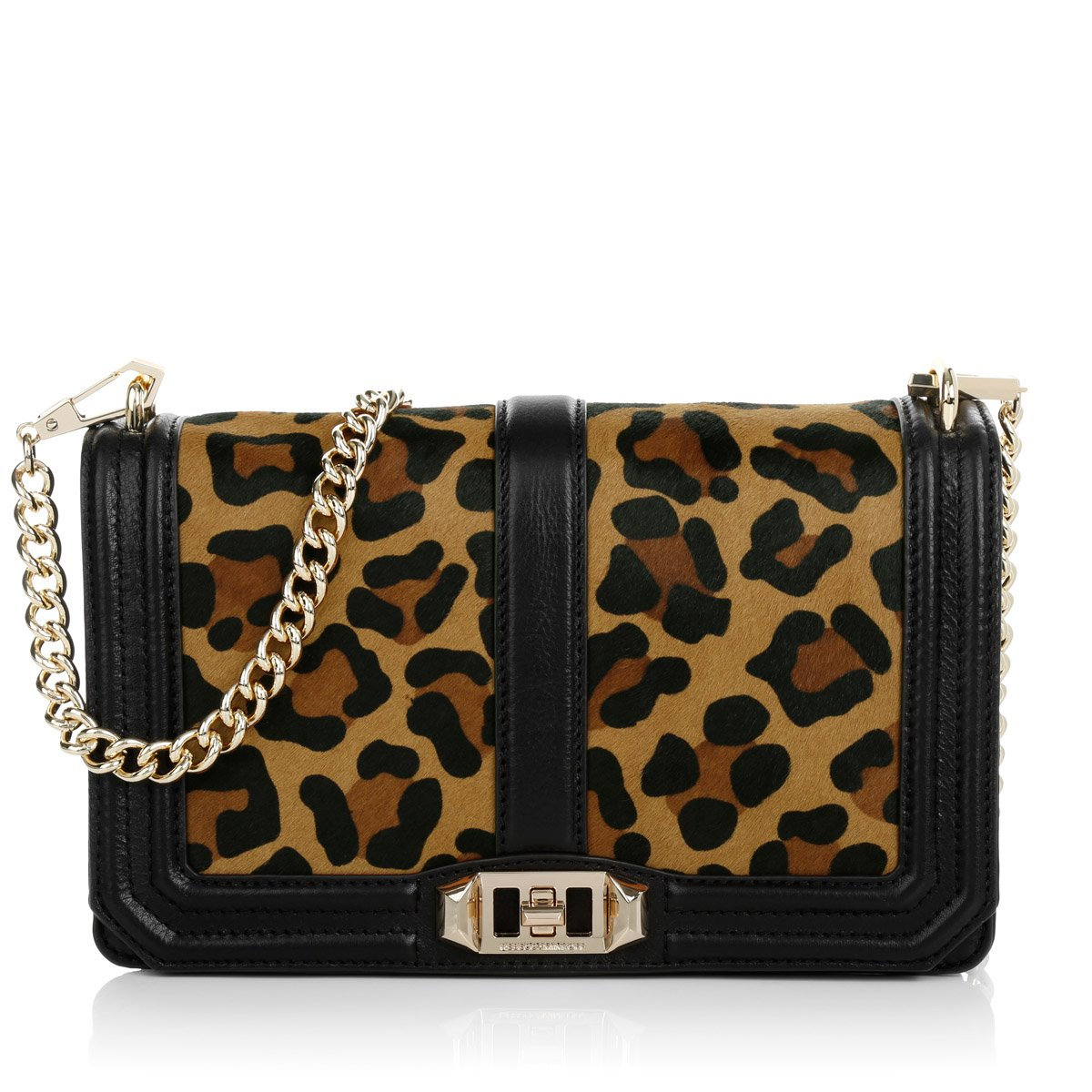 Rebecca Minkoff Love Cross Body Bag, Leopard, One Size