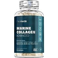 Colágeno Marino, Ácido Hialurónico, Coenzima Q10, Vitamina C y Zinc Dosis Alta 1200mg |…