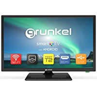 Grunkel - LED-240ASMT - Televisor LED HD Ready, Smart TV, Wi-Fi, Modo Hotel, Auto-Apagado y TDT Alta Definición…