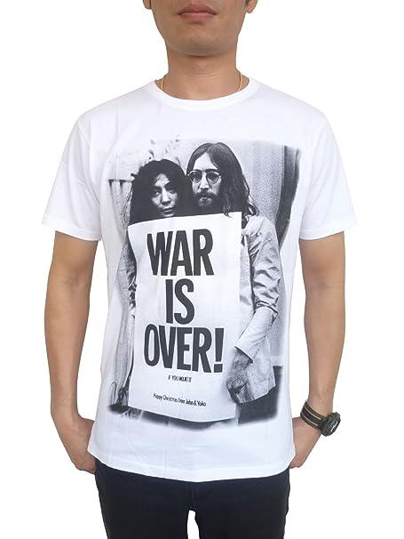 644e357de Amazon.com  TheLegendTshirt Men s John Lennon Yoko Ono Short Sleeve ...