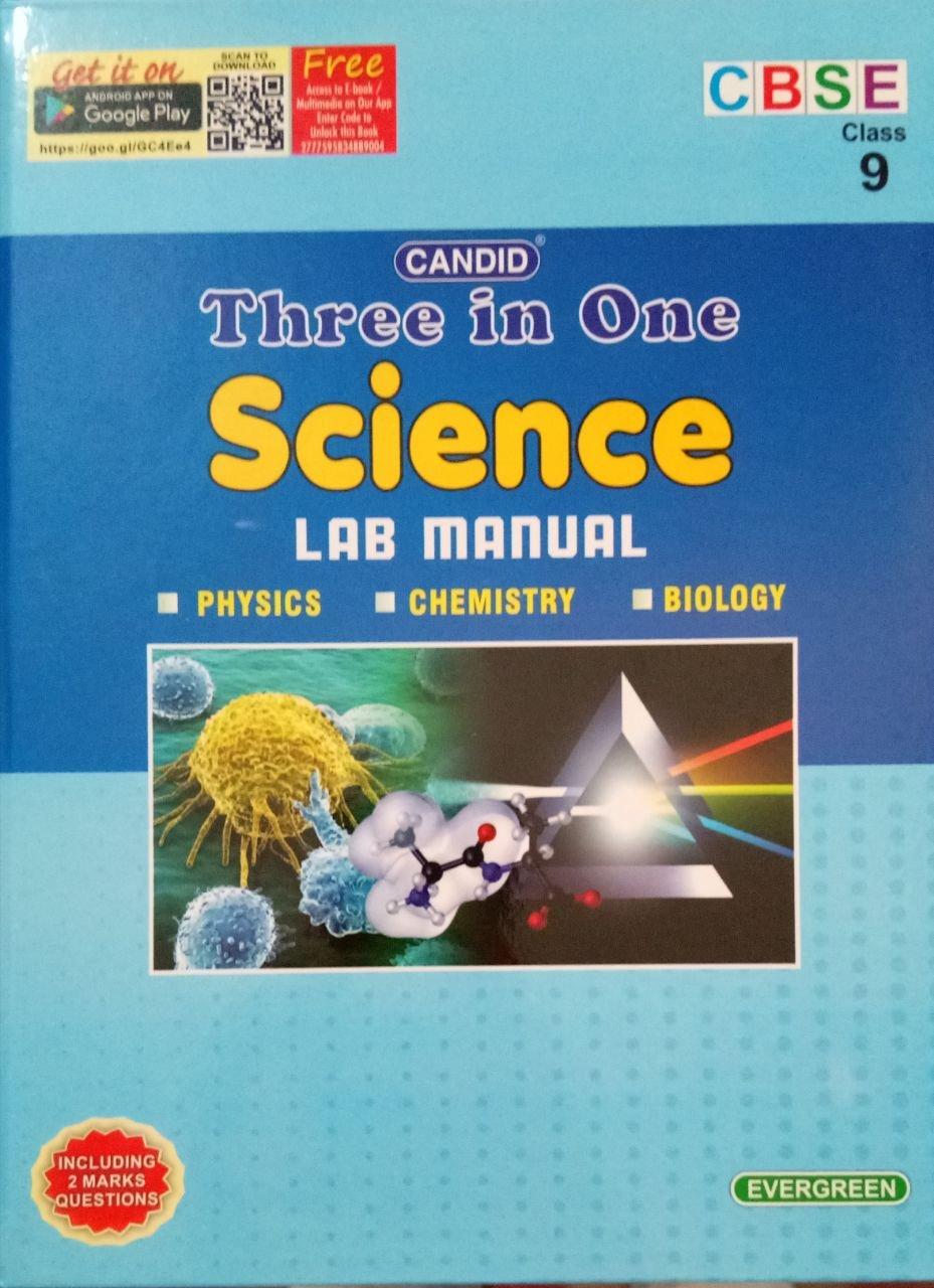 Candid Three in One Lab Manual in Science (Class 9): Amazon.in: Pradeep  Singh, Jatinder Singh, Dheeraj Banati: Books