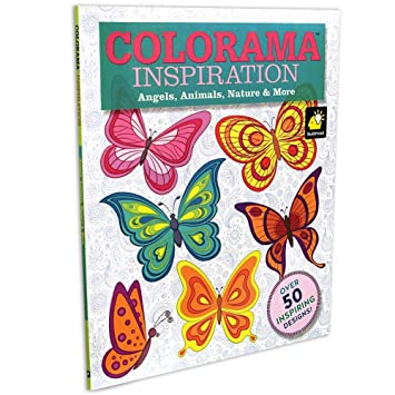 colorama decoration and inspiration angels animals nature more coloring book - Coloring Book Angels
