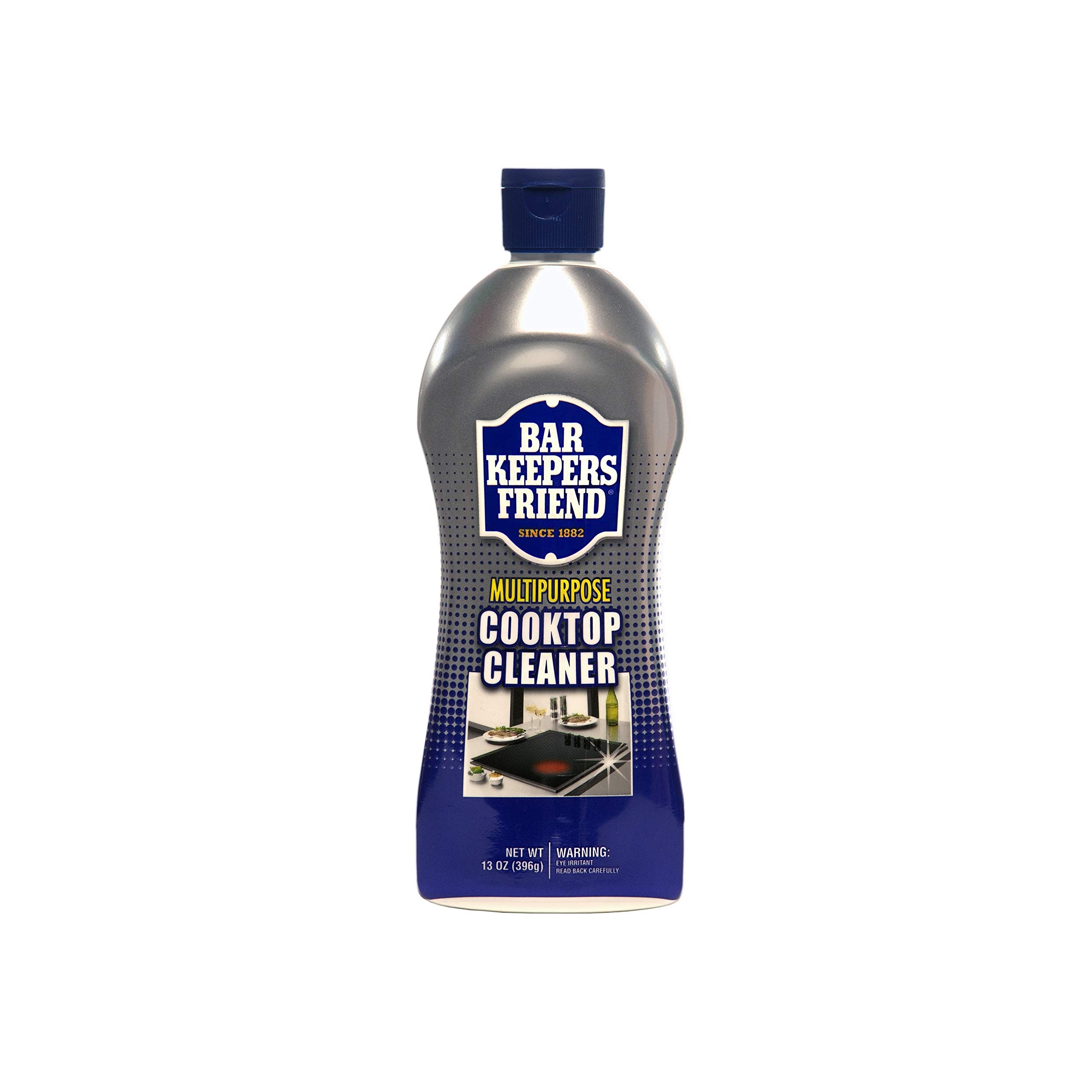 Bar Keepers Friend Multipurpose Cooktop Cleaner (13 oz) - Liquid Stovetop Cleanser - Safe for Use on Glass Ceramic…