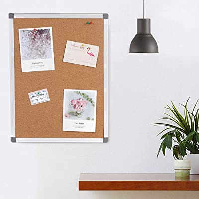 Buy Cork Boards Bulletin Board 2x3 Large Notice Pin Board For Home Office Kitchen Wall Mounted Corkboard With Aluminium Frame 36x24inch Online In Indonesia B01in217hg