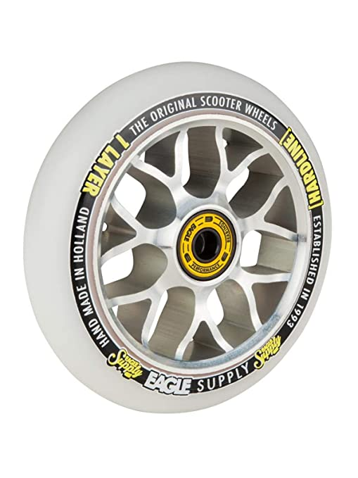 Eagle Supply Rueda para Scooter Individual H-Line X6 Snowballs - 110Mm Plata-Bla