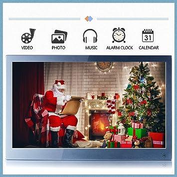 "WSD 15.6"" IPS1920*1080 Vista Completa Digital Photo Marco Reloj Despertador Reproductor de MP3"