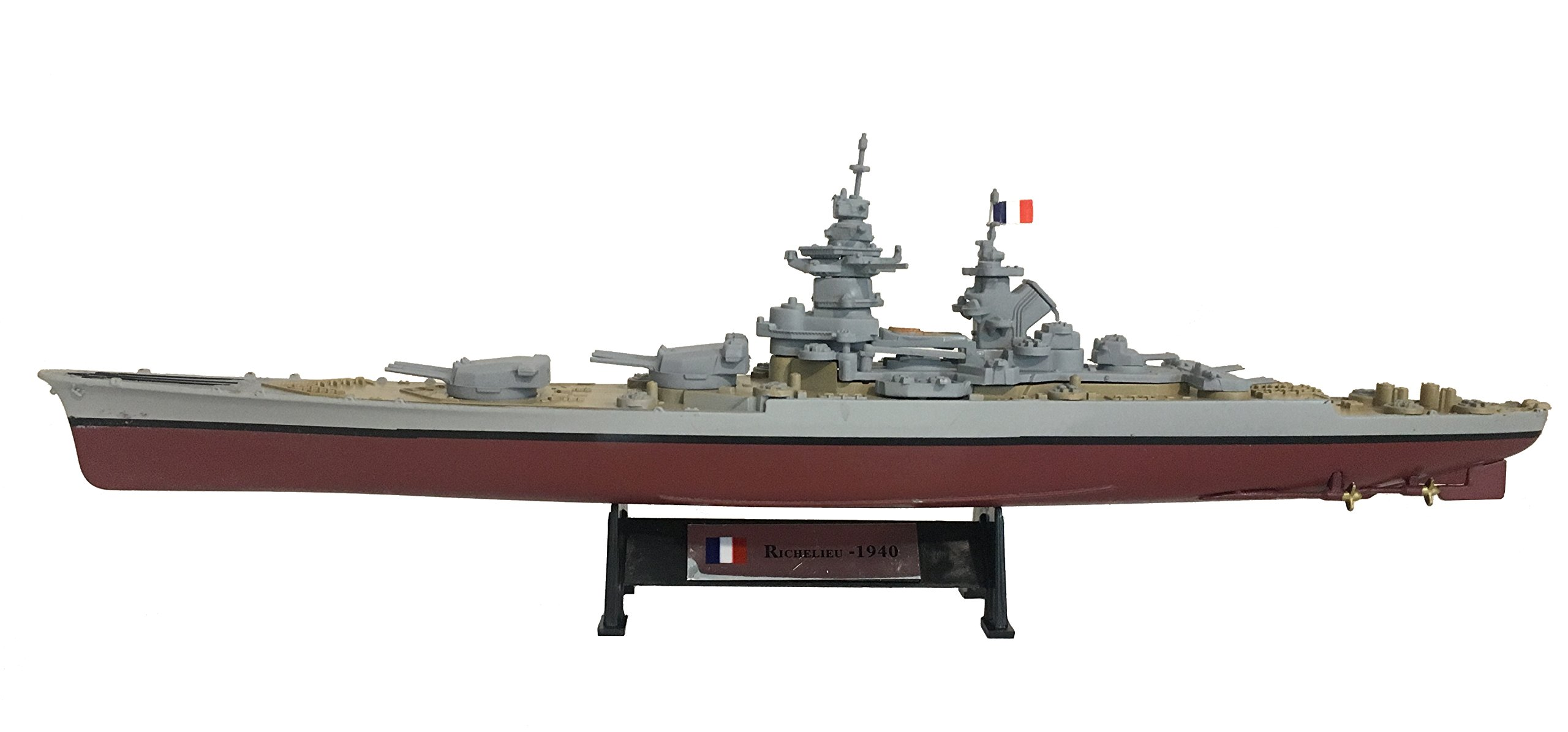Richelieu 1940 - 1:1000 Ship Model (Amercom ST-10)