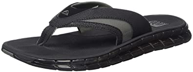 Reef Men's Boster Sandal, Black Ice, ...