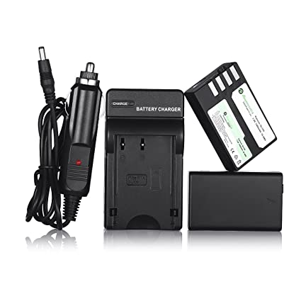 Powerextra 2 Pack Replacement Pentax D-LI109 Li-ion Battery and Charger Compatible with Pentax KR, K-30, K-50, K-500, K-S1, K-S2 Camera