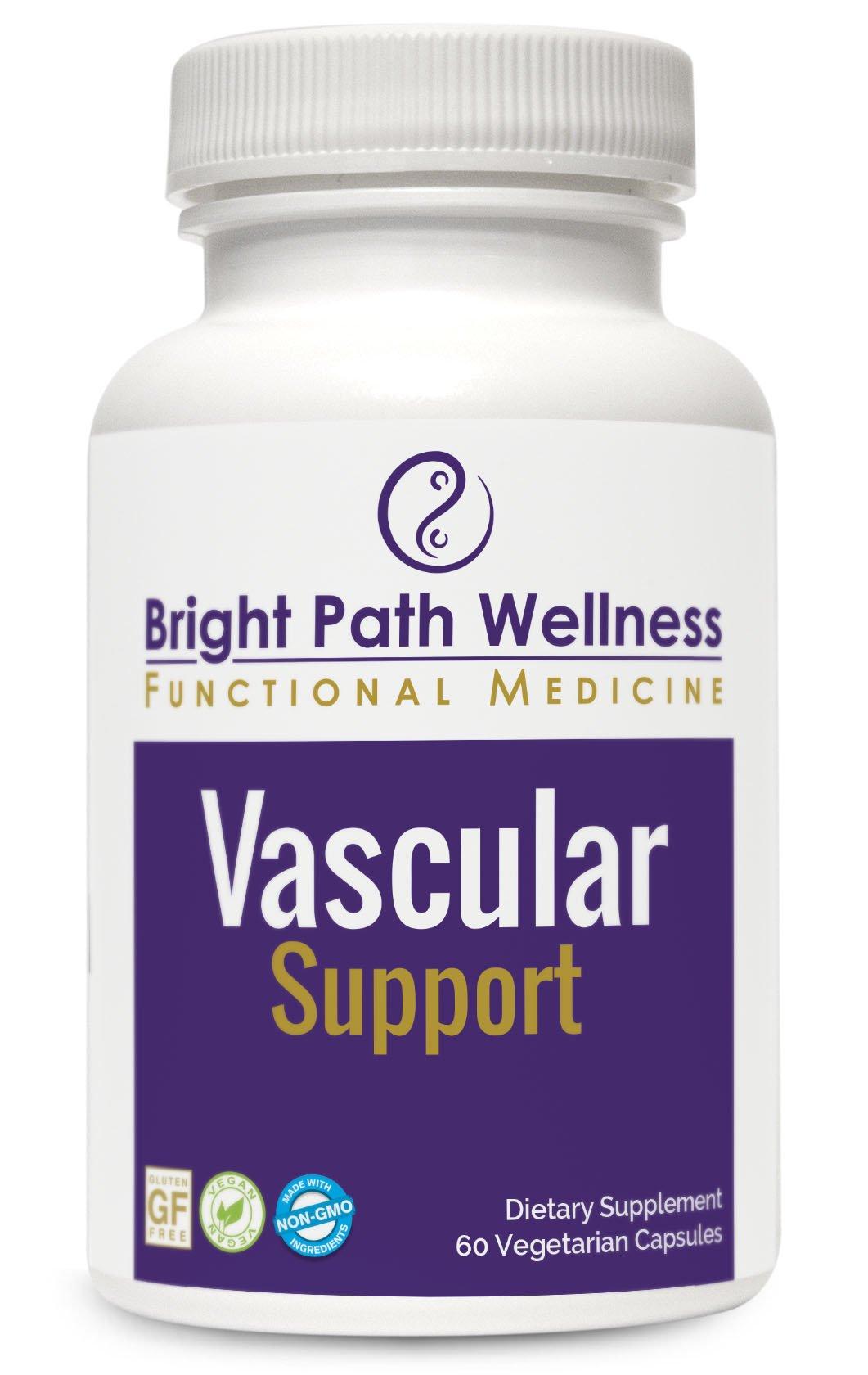 Vascular Support - 60 Capsules, Diosmin, Non GMO, Gluten Free, Caridovascular and Microcirculation Support, cGMP