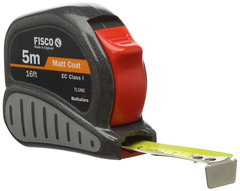 Fisco TL5ME Tri-Lok - Cinta de medir (tamañ o: 5m/16ft)