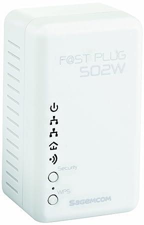 Sagemcom F@st Plug 502W Powerline Wi Fi Extender