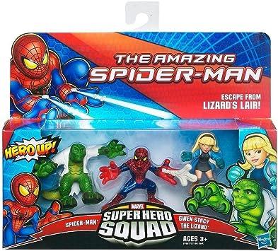 Marvel Spiderman Super Hero Squad Figure 3-Pack - Escape from ...