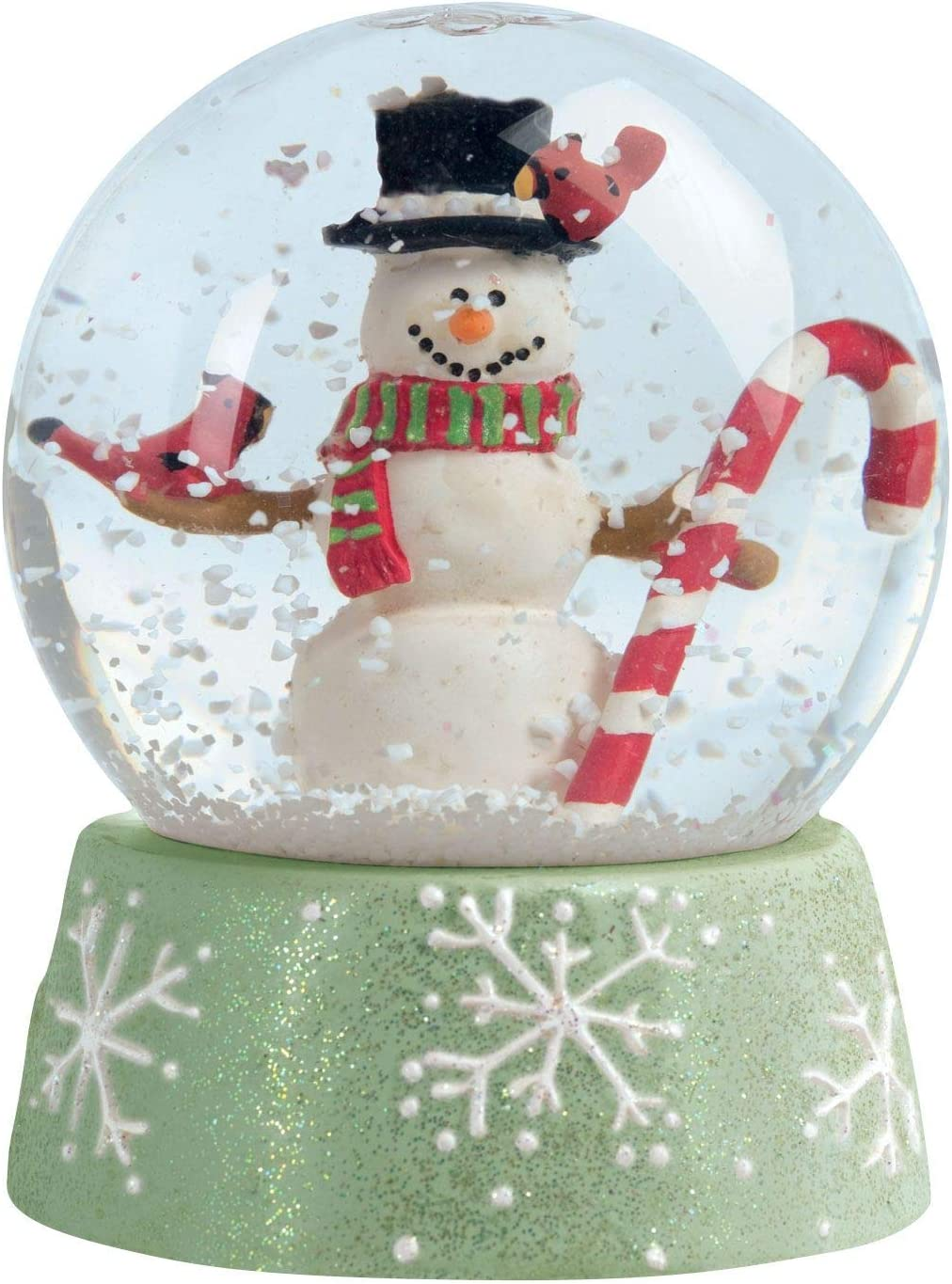 "Paper House Productions 3.5"" x 2.5"" Die-Cut Snow Globe Shaped Magnet for Refrigerators and Lockers"